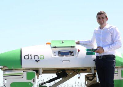"""Feldroboter """"Dino"""" und die moderne Landwirtschaft"""