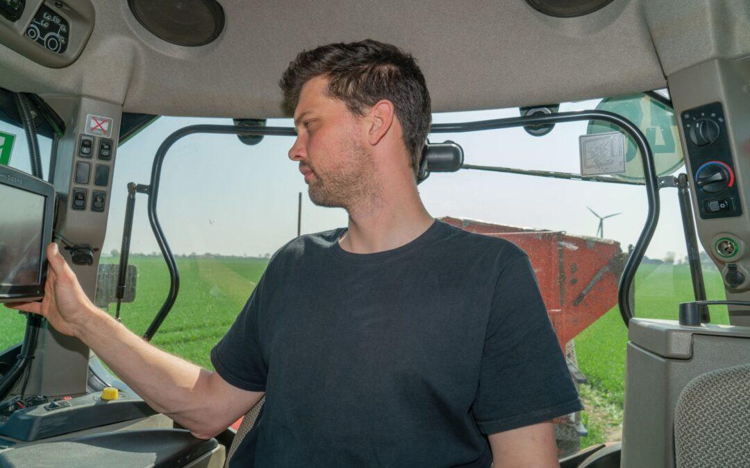 Digitale Düngung: mit GPS gegen Überdüngung
